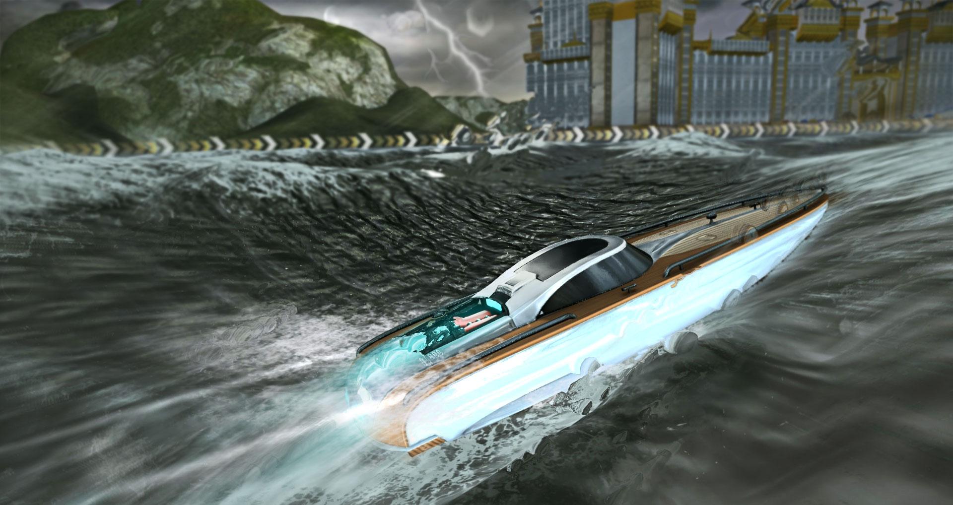 Ubisoft přiváží mobilní námořní závody pod značkou Driver 107202