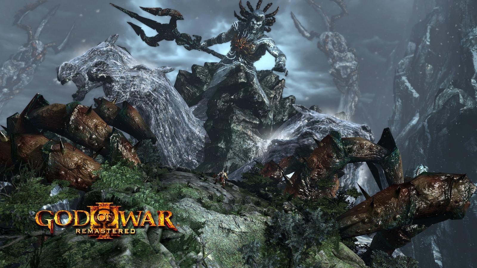 God of War 3 v remasterované edici pro PS4 107210