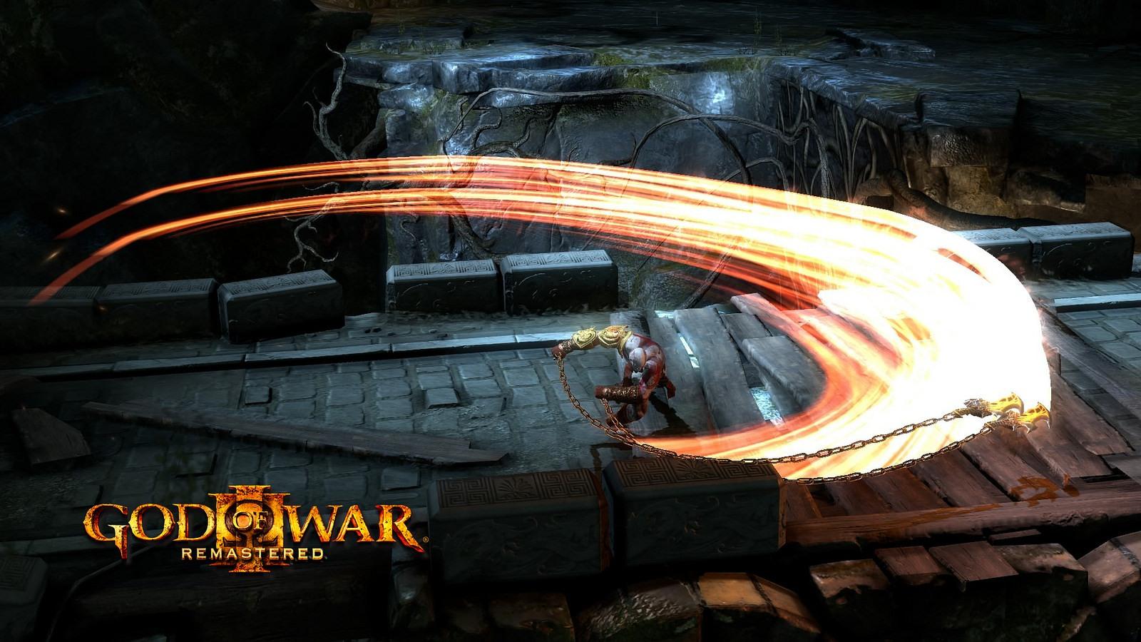 God of War 3 v remasterované edici pro PS4 107211