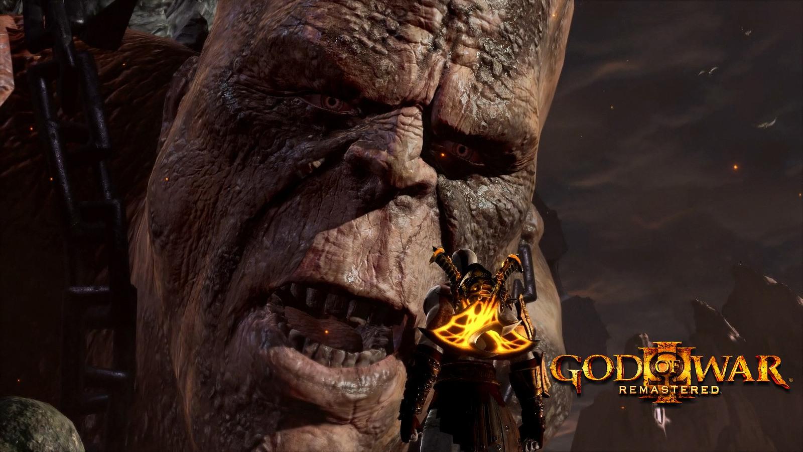 God of War 3 v remasterované edici pro PS4 107214