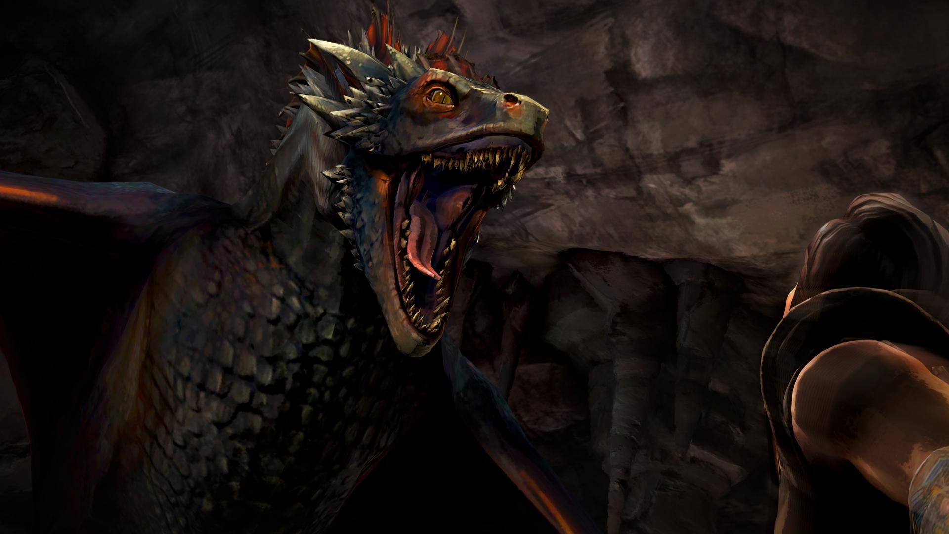 Drak a Jon Sníh na obrázcích z Game of Thrones: Episode 3 107216