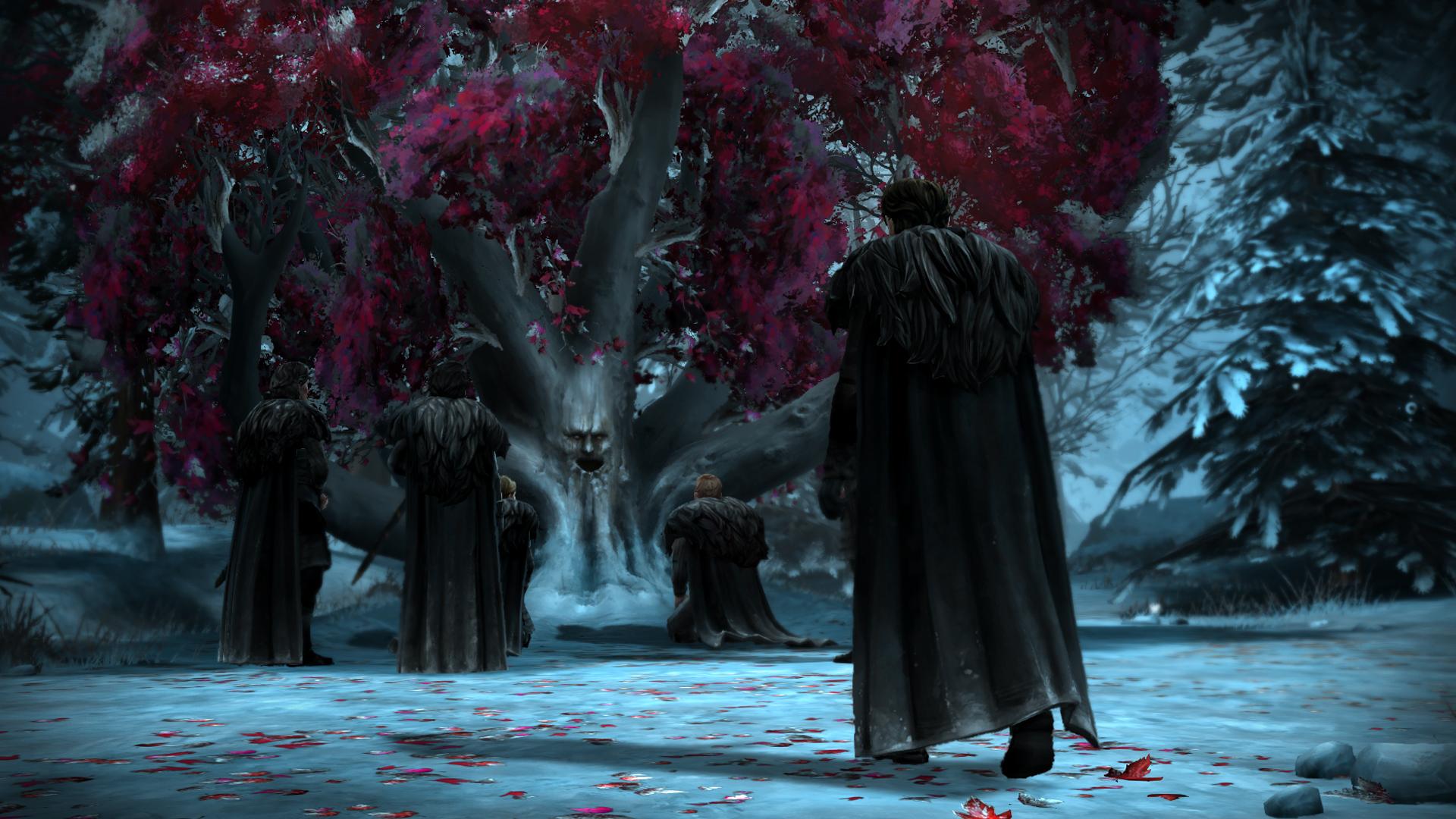 Drak a Jon Sníh na obrázcích z Game of Thrones: Episode 3 107217