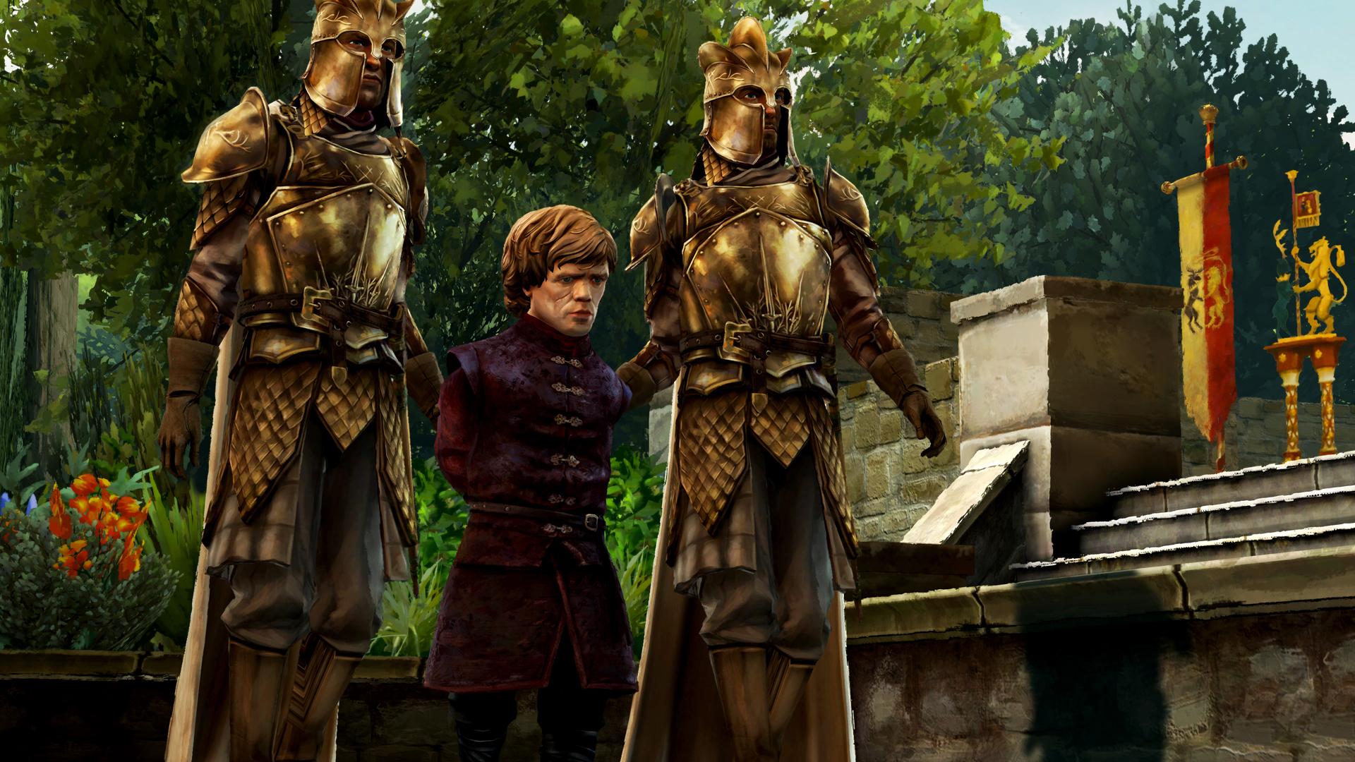 Drak a Jon Sníh na obrázcích z Game of Thrones: Episode 3 107219