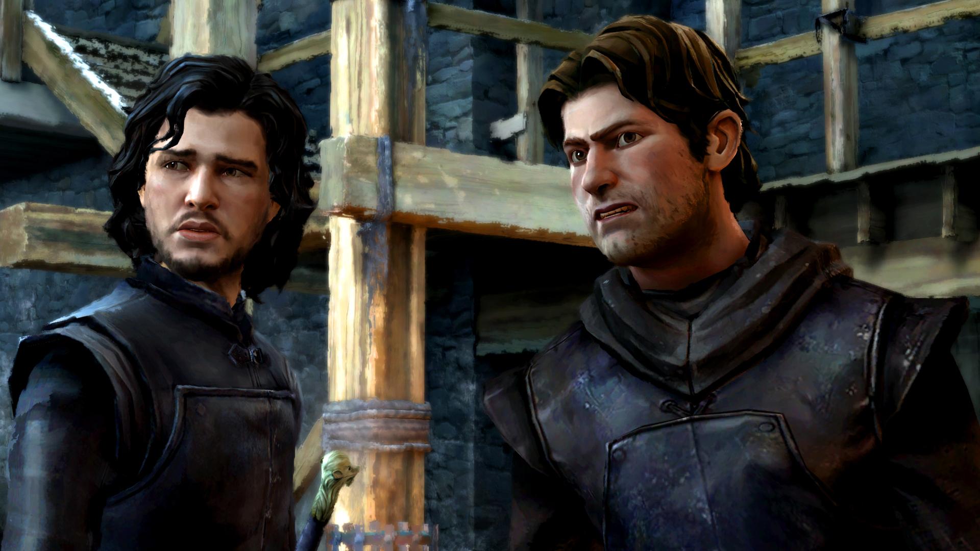 Drak a Jon Sníh na obrázcích z Game of Thrones: Episode 3 107220