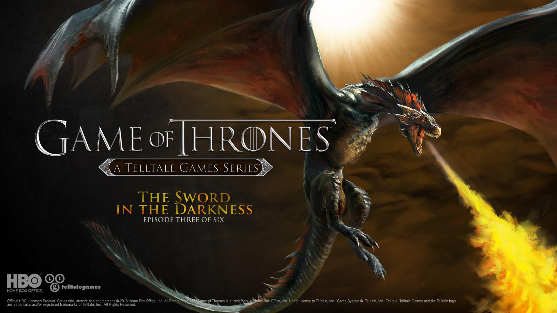 Drak a Jon Sníh na obrázcích z Game of Thrones: Episode 3 107221