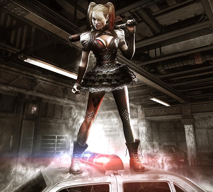V rozšíření Batman: Arkham Knight se s Harley Quinn infiltrujete do Blüdhavenu 107249