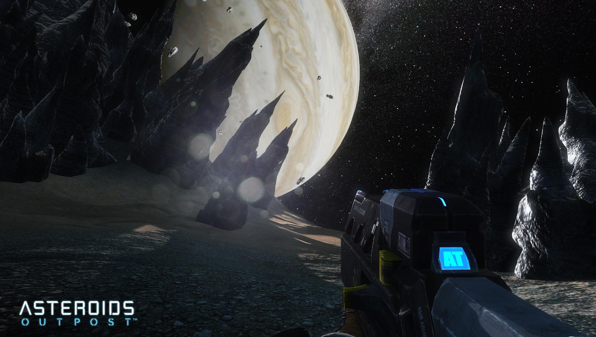 Asteroids: Outpost nově v předběžném přístupu 107385