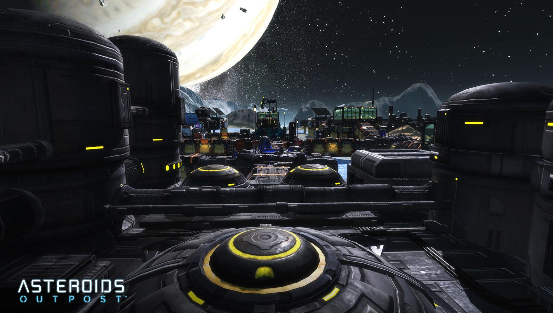 Asteroids: Outpost nově v předběžném přístupu 107386