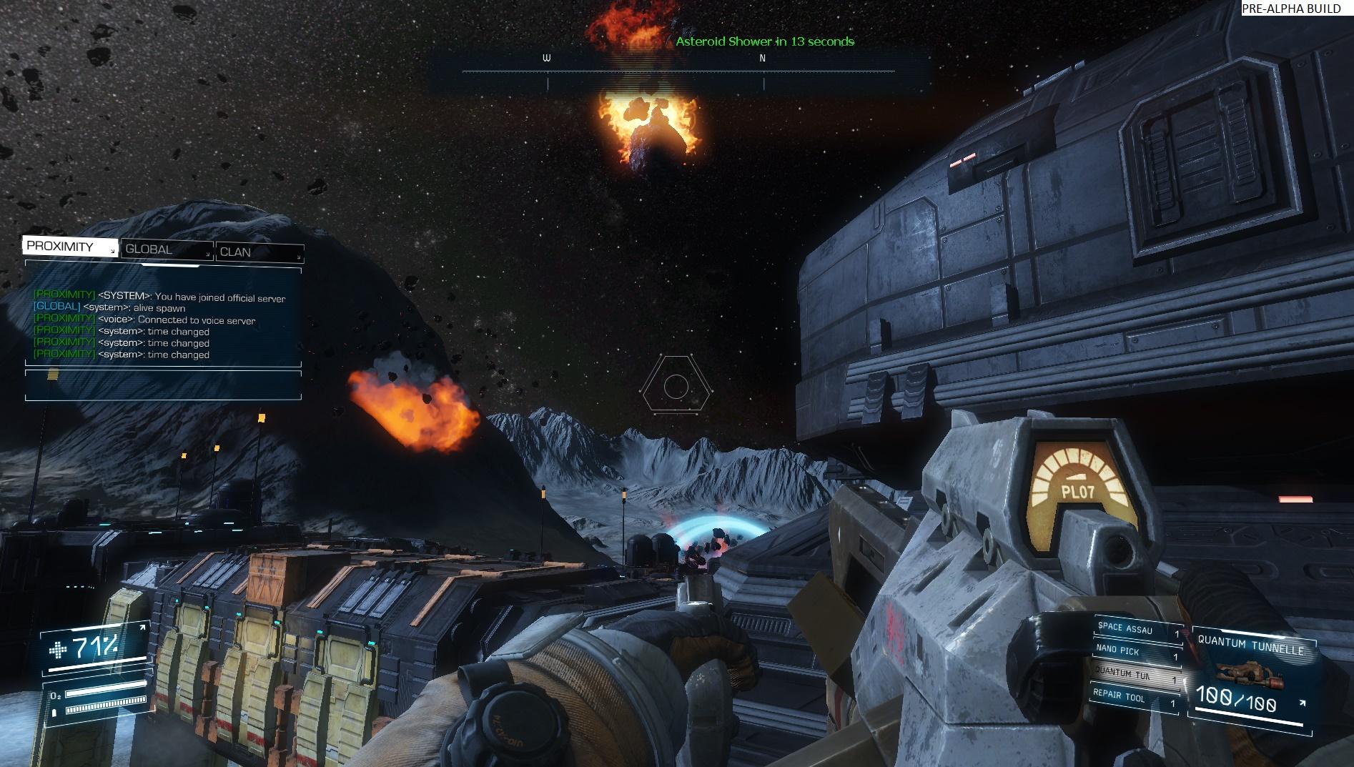 Asteroids: Outpost nově v předběžném přístupu 107387