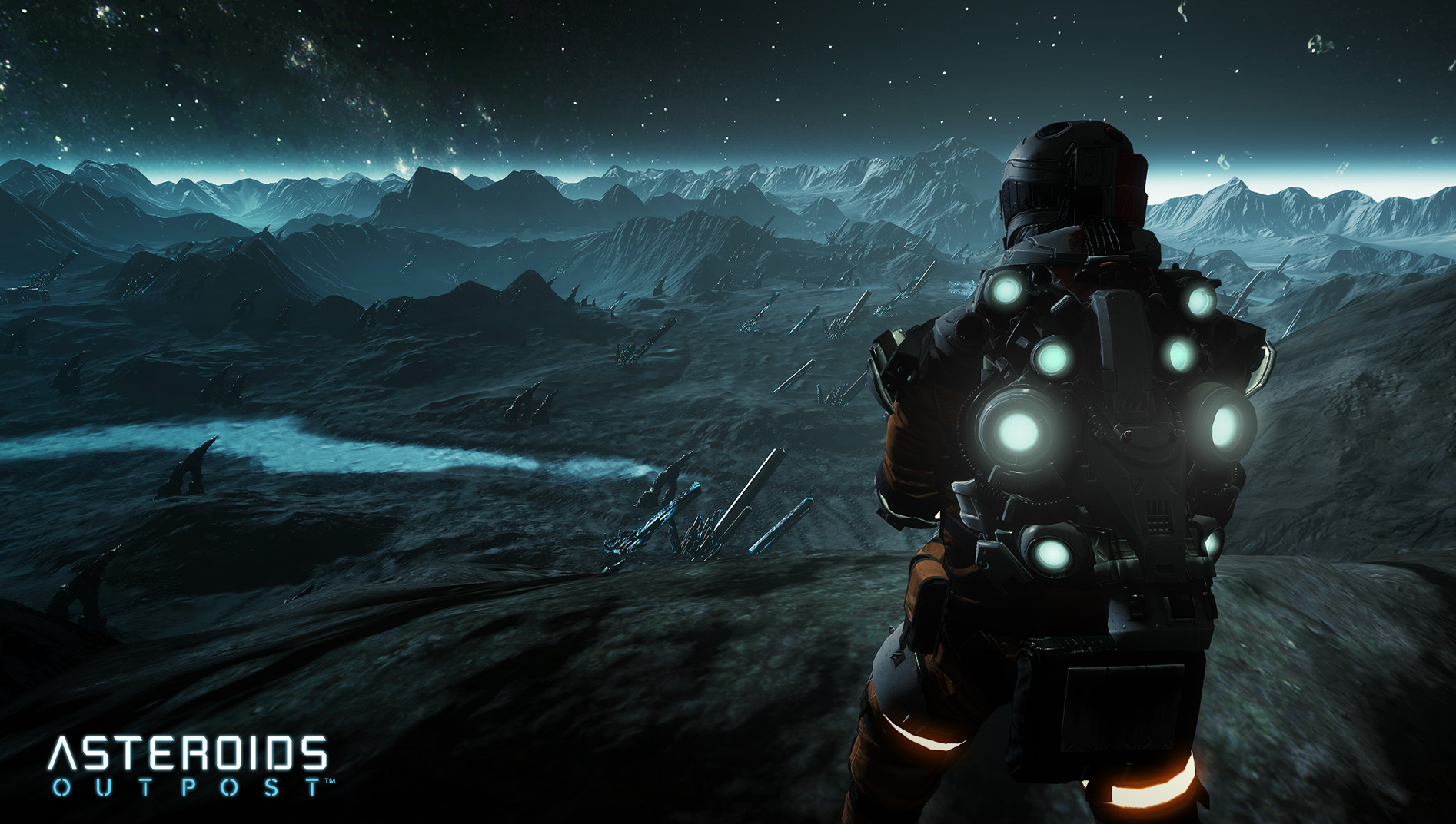 Asteroids: Outpost nově v předběžném přístupu 107388