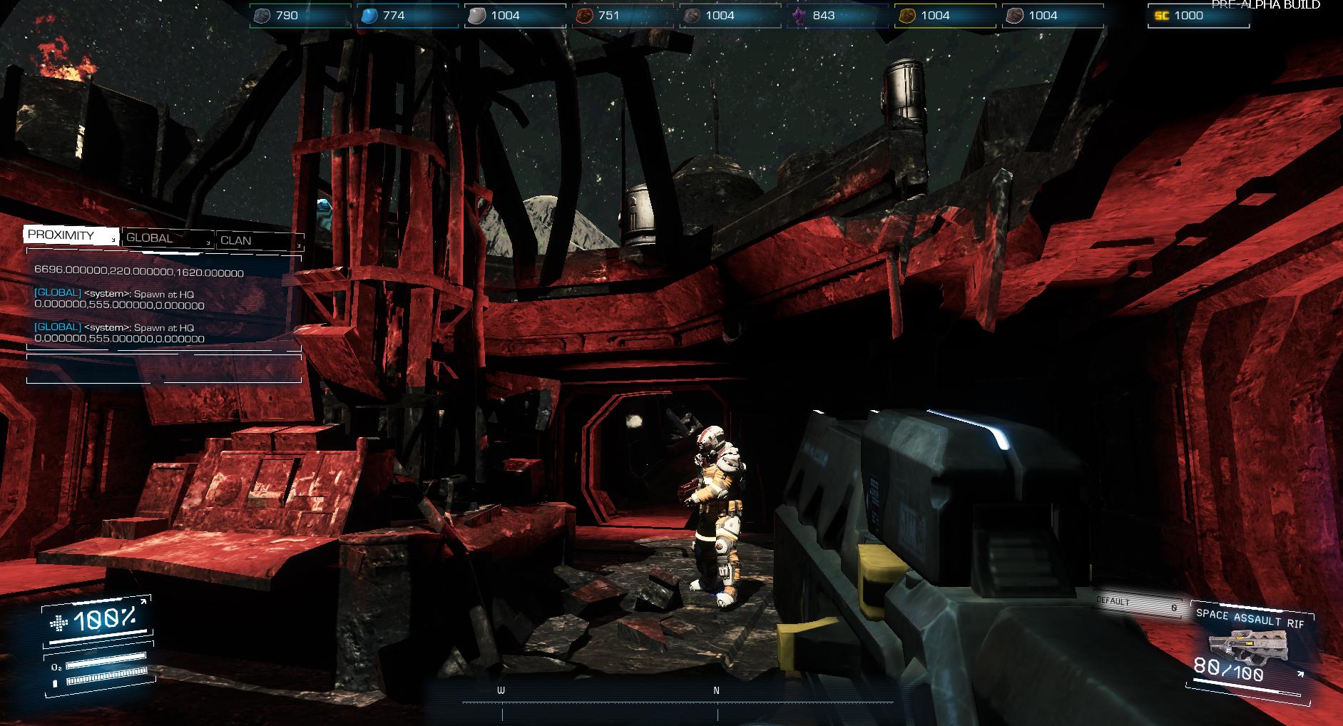 Asteroids: Outpost nově v předběžném přístupu 107389