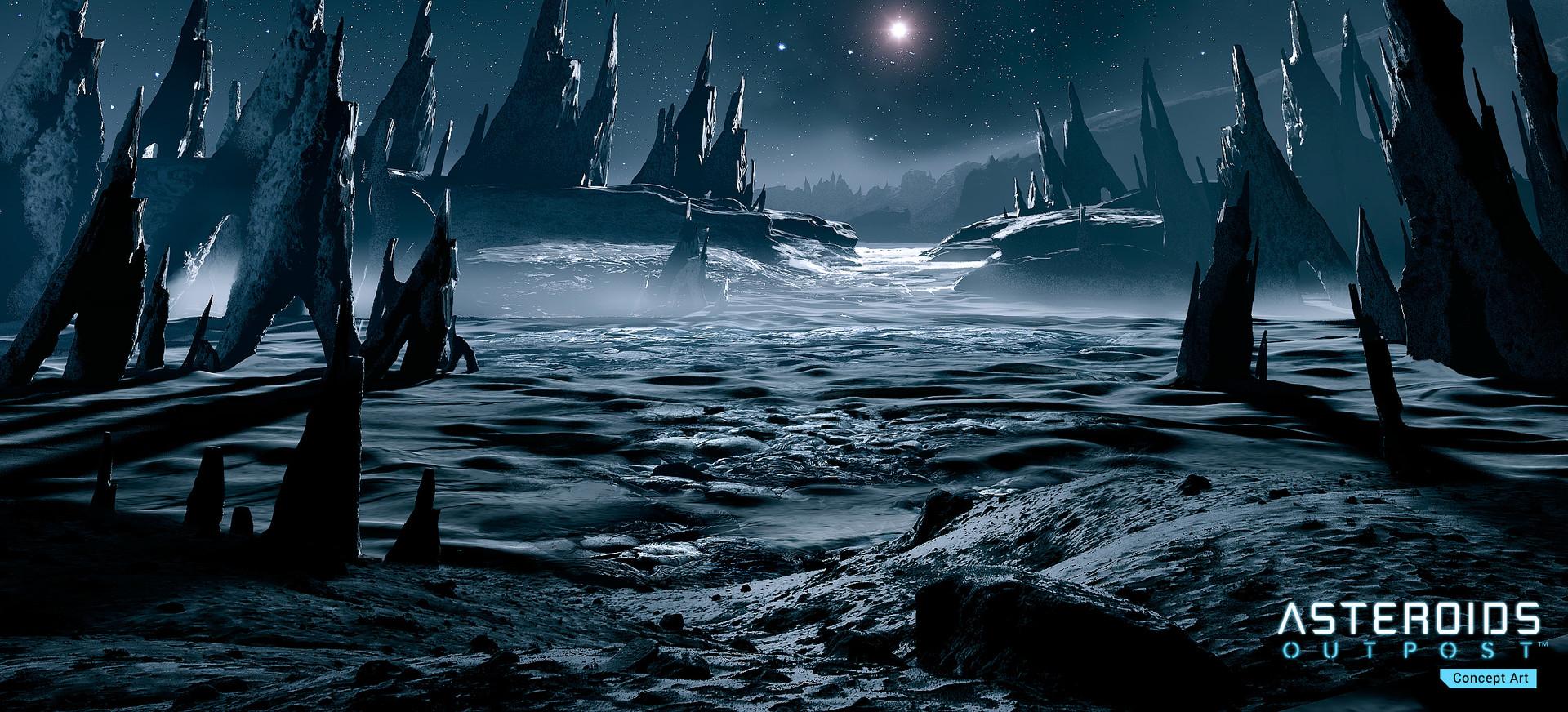 Asteroids: Outpost nově v předběžném přístupu 107393