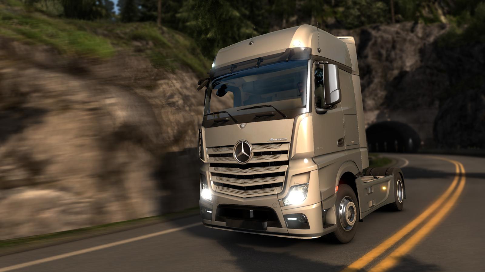 Mercedes brzy ve vaší garáži v Euro Truck Simulatoru 2 107395