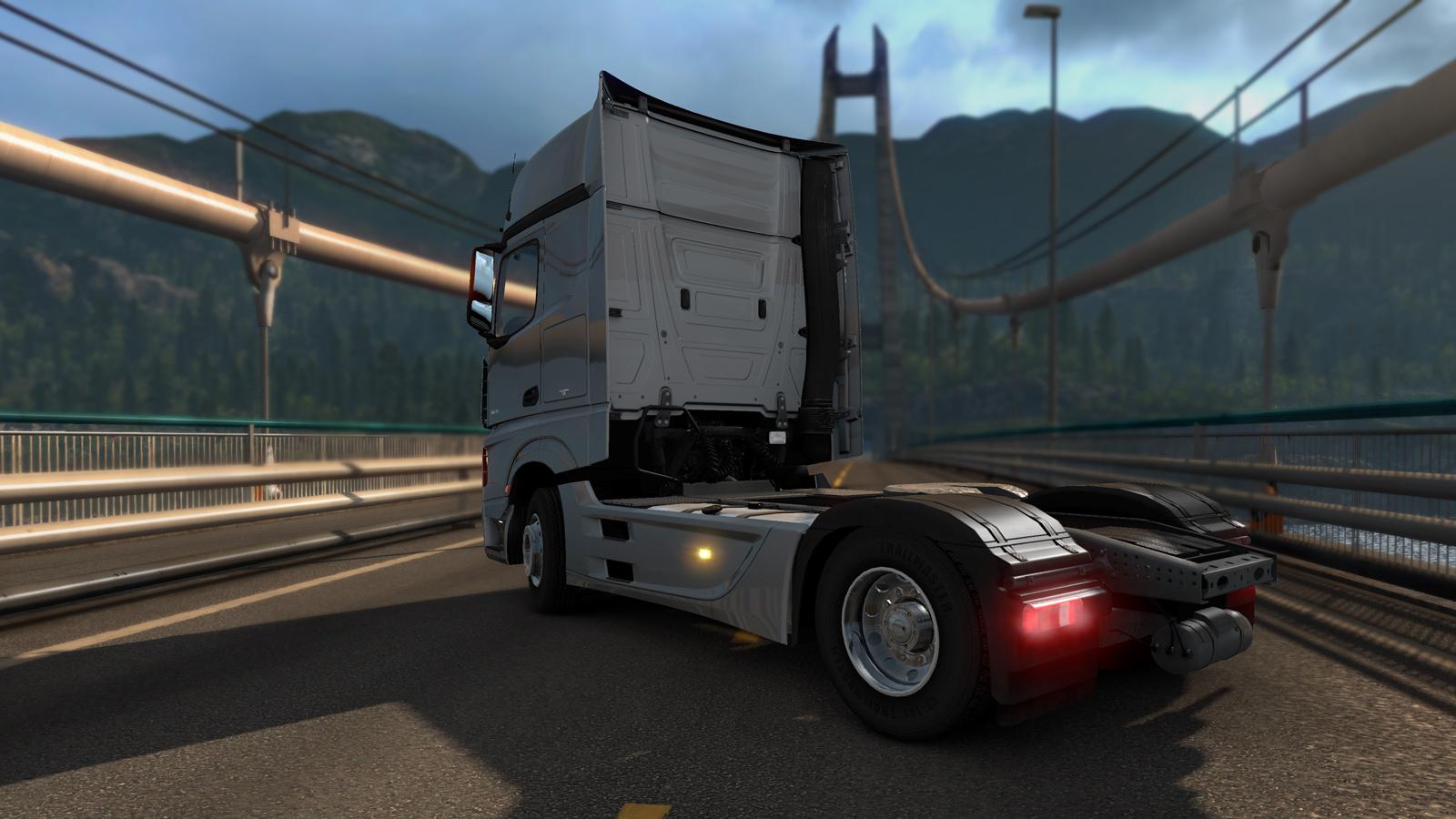 Mercedes brzy ve vaší garáži v Euro Truck Simulatoru 2 107398