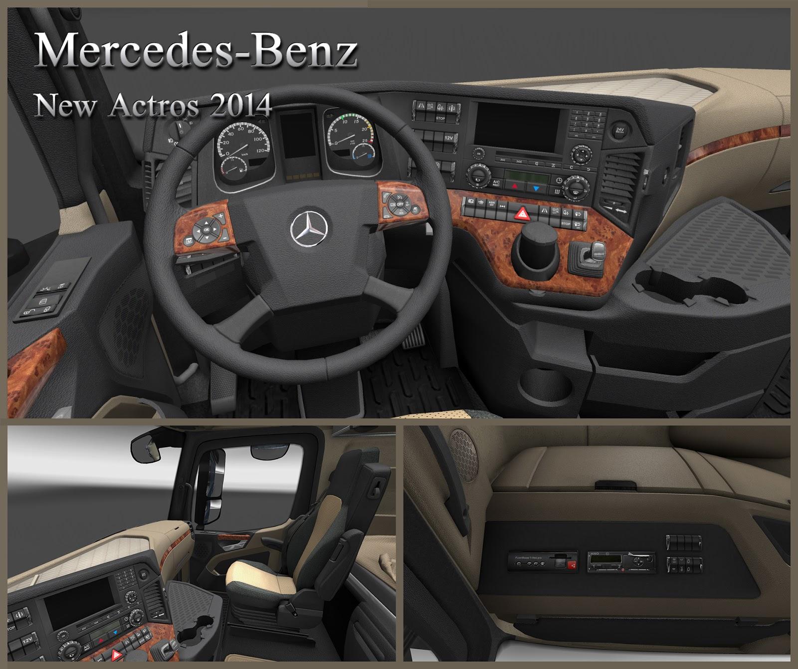 Mercedes brzy ve vaší garáži v Euro Truck Simulatoru 2 107400