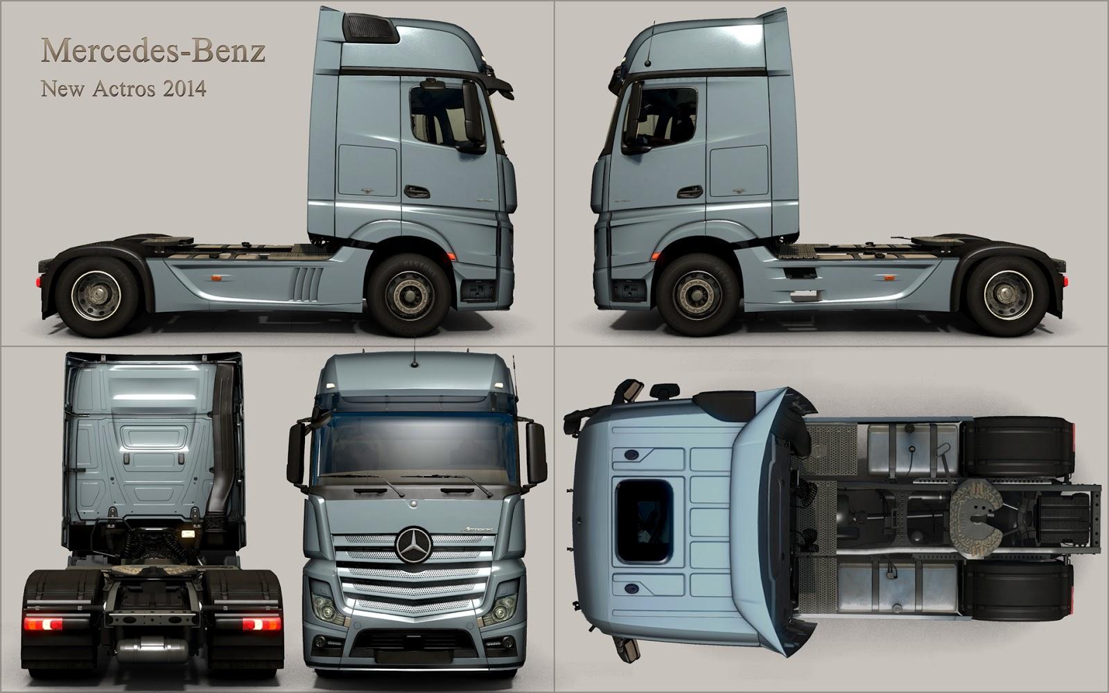 Mercedes brzy ve vaší garáži v Euro Truck Simulatoru 2 107401