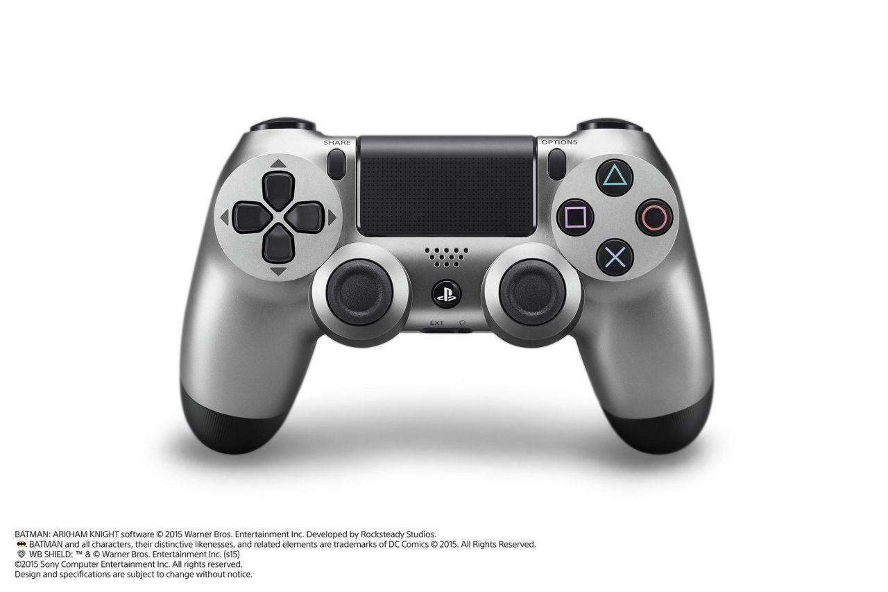 Limitovaná Steel Grey edice PS4 s Batman: Arkham Knight 107493