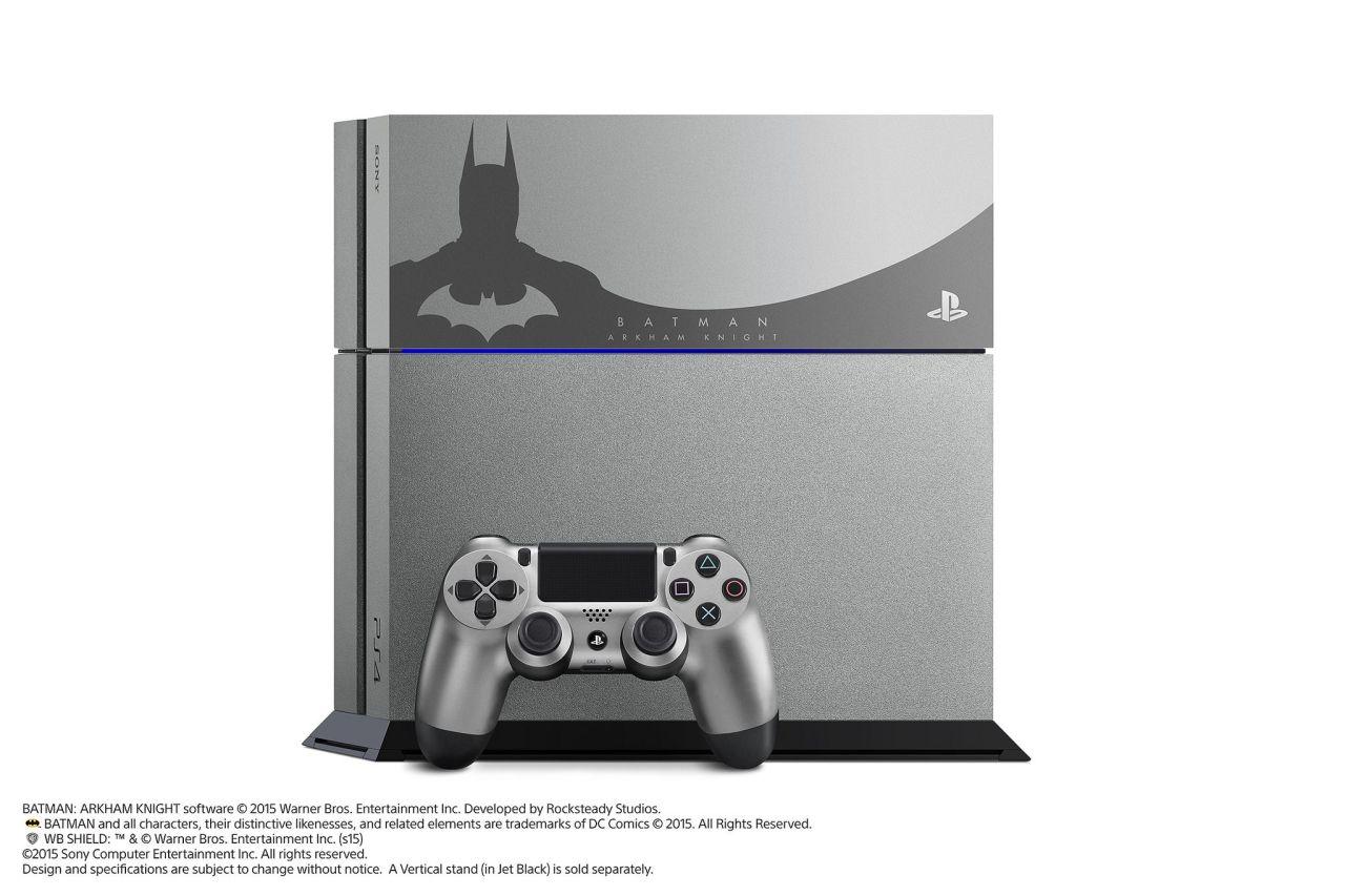 Limitovaná Steel Grey edice PS4 s Batman: Arkham Knight 107494