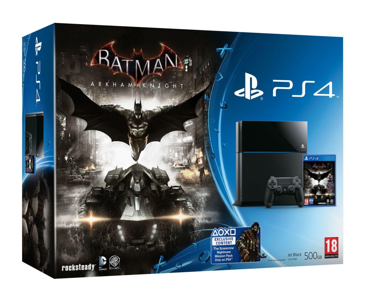 Limitovaná Steel Grey edice PS4 s Batman: Arkham Knight 107495