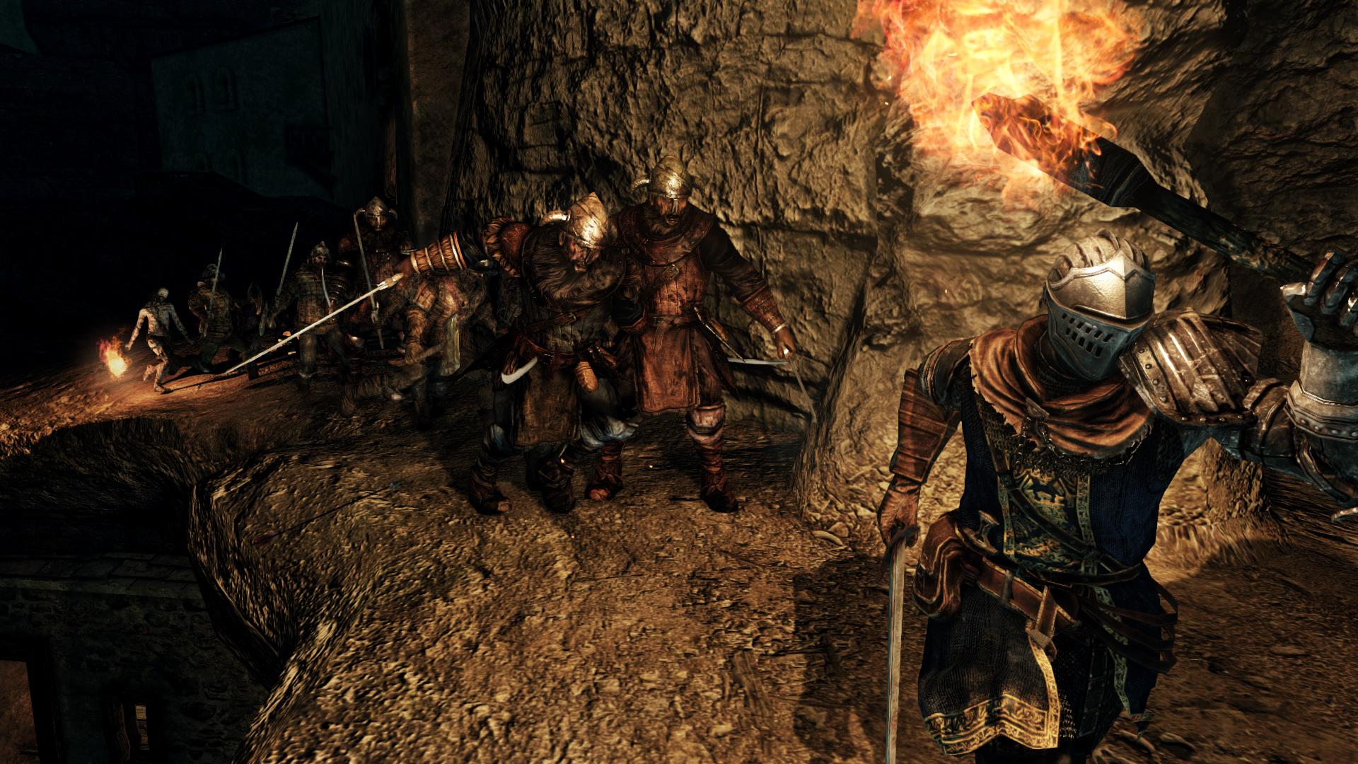 Obrazem: Temné dungeony, kostlivci a monstra z Dark Souls 2: Scholar of the First Sin 107552
