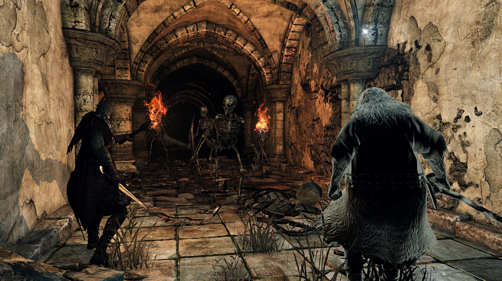 Obrazem: Temné dungeony, kostlivci a monstra z Dark Souls 2: Scholar of the First Sin 107553
