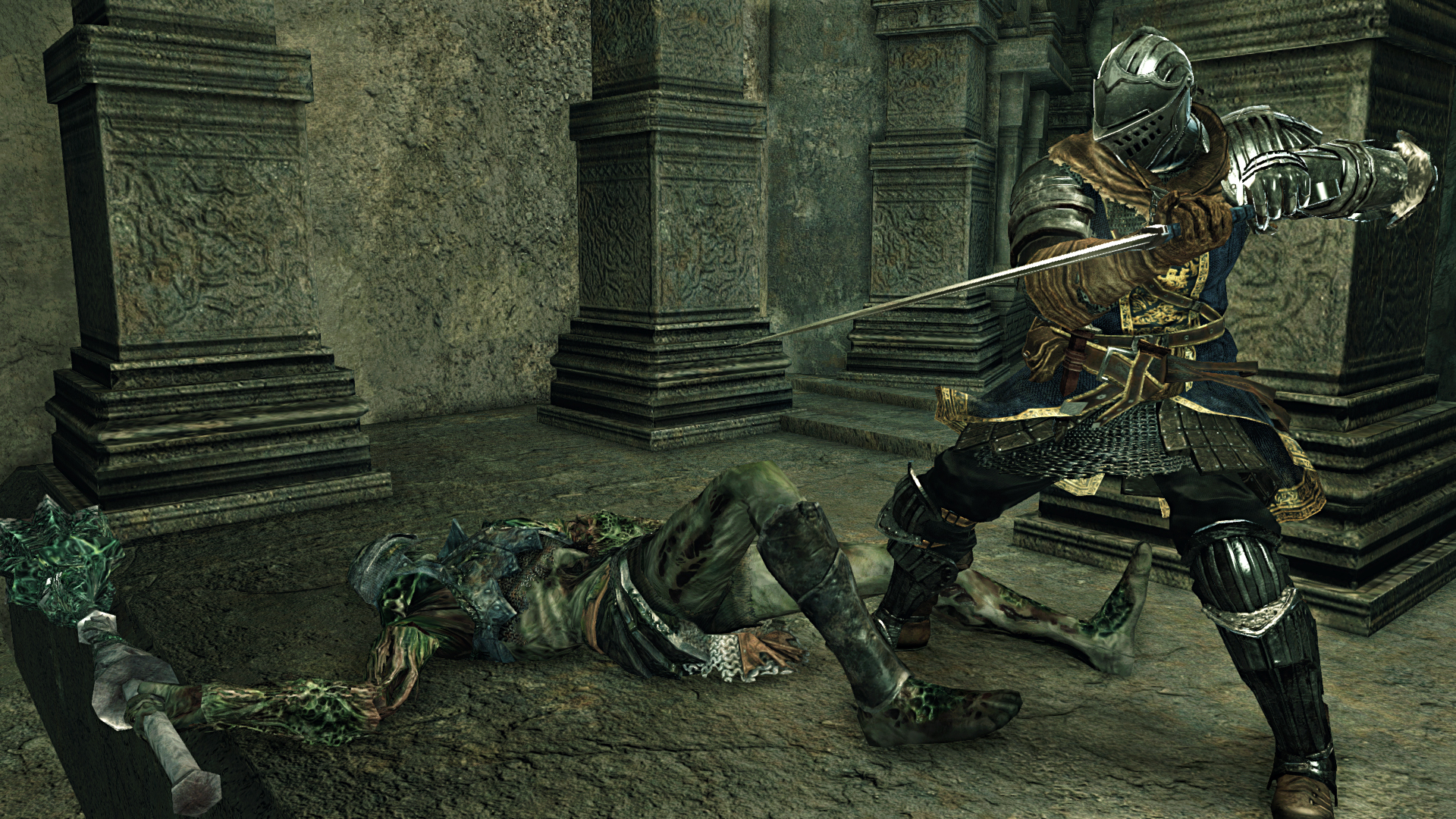 Obrazem: Temné dungeony, kostlivci a monstra z Dark Souls 2: Scholar of the First Sin 107555