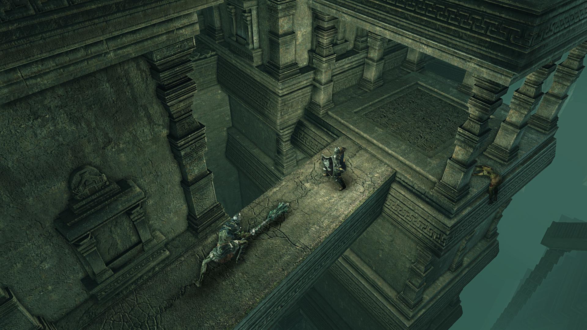 Obrazem: Temné dungeony, kostlivci a monstra z Dark Souls 2: Scholar of the First Sin 107556