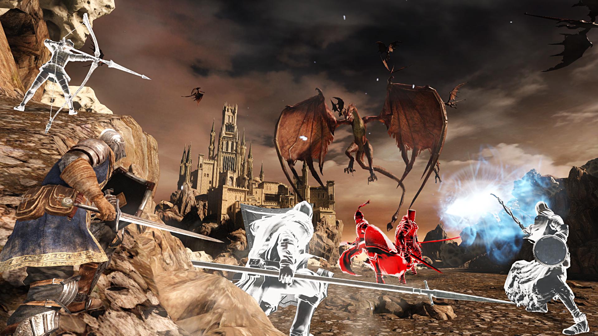 Obrazem: Temné dungeony, kostlivci a monstra z Dark Souls 2: Scholar of the First Sin 107560