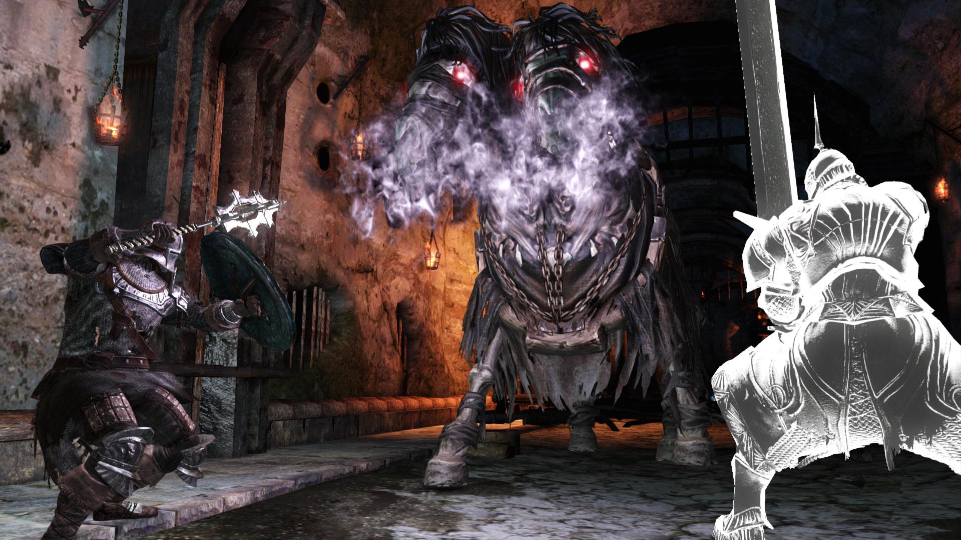 Obrazem: Temné dungeony, kostlivci a monstra z Dark Souls 2: Scholar of the First Sin 107565