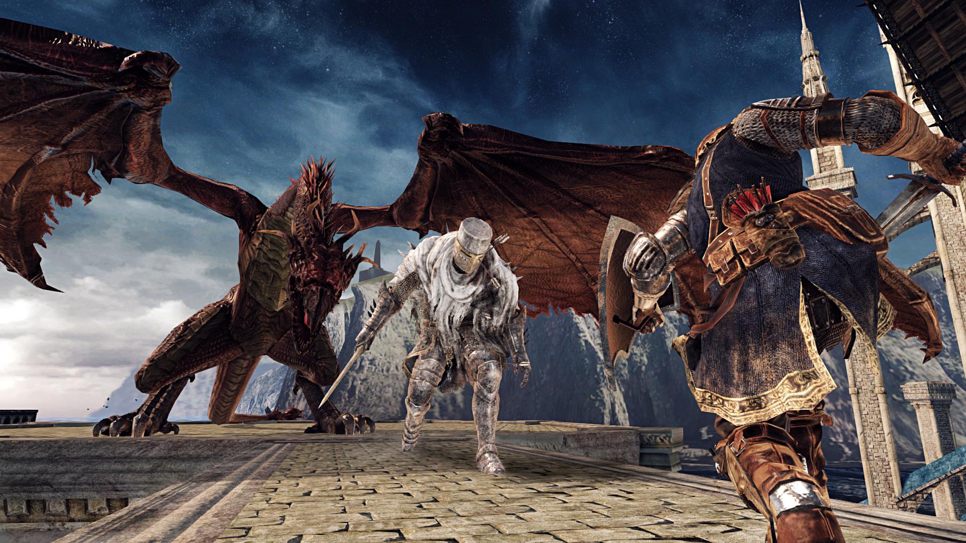 Obrazem: Temné dungeony, kostlivci a monstra z Dark Souls 2: Scholar of the First Sin 107572
