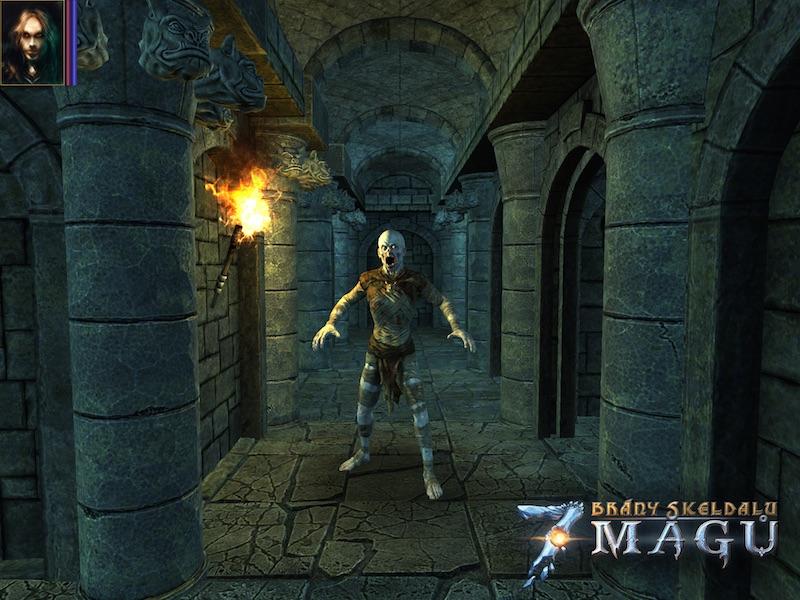 Brzy zavítáme do čtvercových dungeonů ve hře Brány Skeldalu: Sedm mágů 107663