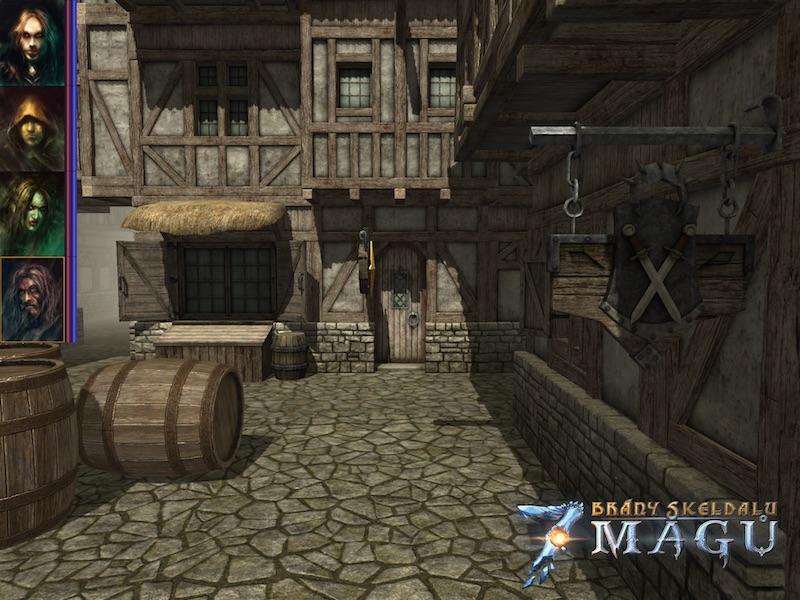 Brzy zavítáme do čtvercových dungeonů ve hře Brány Skeldalu: Sedm mágů 107664