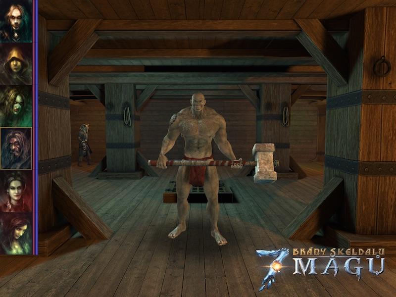 Brzy zavítáme do čtvercových dungeonů ve hře Brány Skeldalu: Sedm mágů 107665