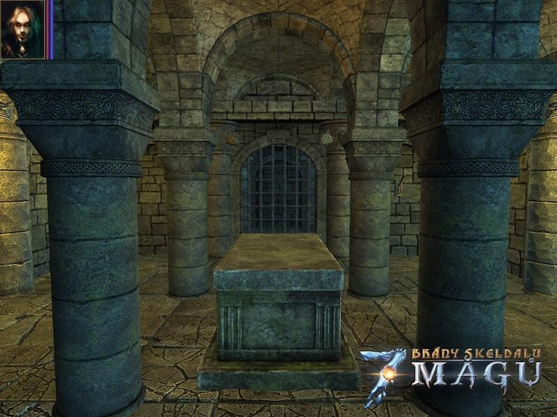 Brzy zavítáme do čtvercových dungeonů ve hře Brány Skeldalu: Sedm mágů 107666