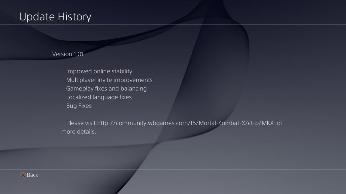 První patch do Mortal Kombat X má 1,8GB. Jak dlouhý je příběh? 107731