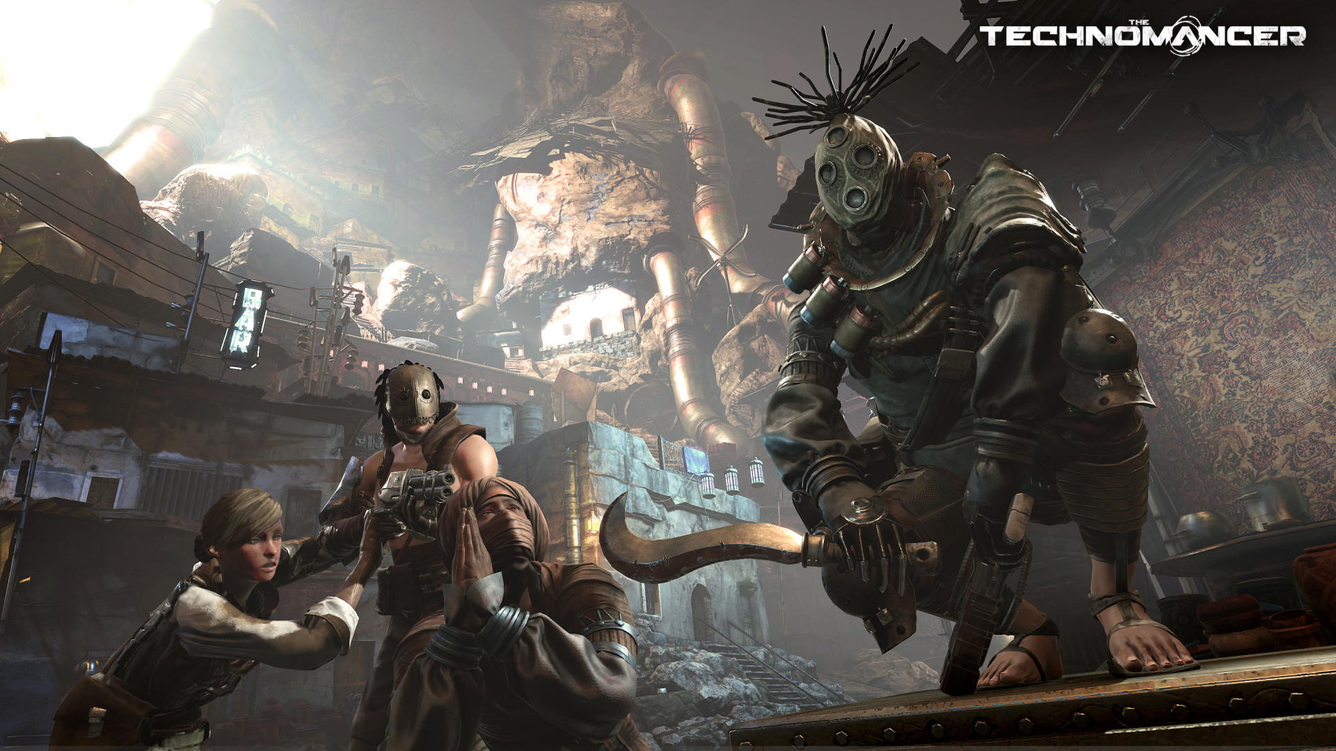 Post-apokalyptické RPG Technomancer se chlubí detaily 107850
