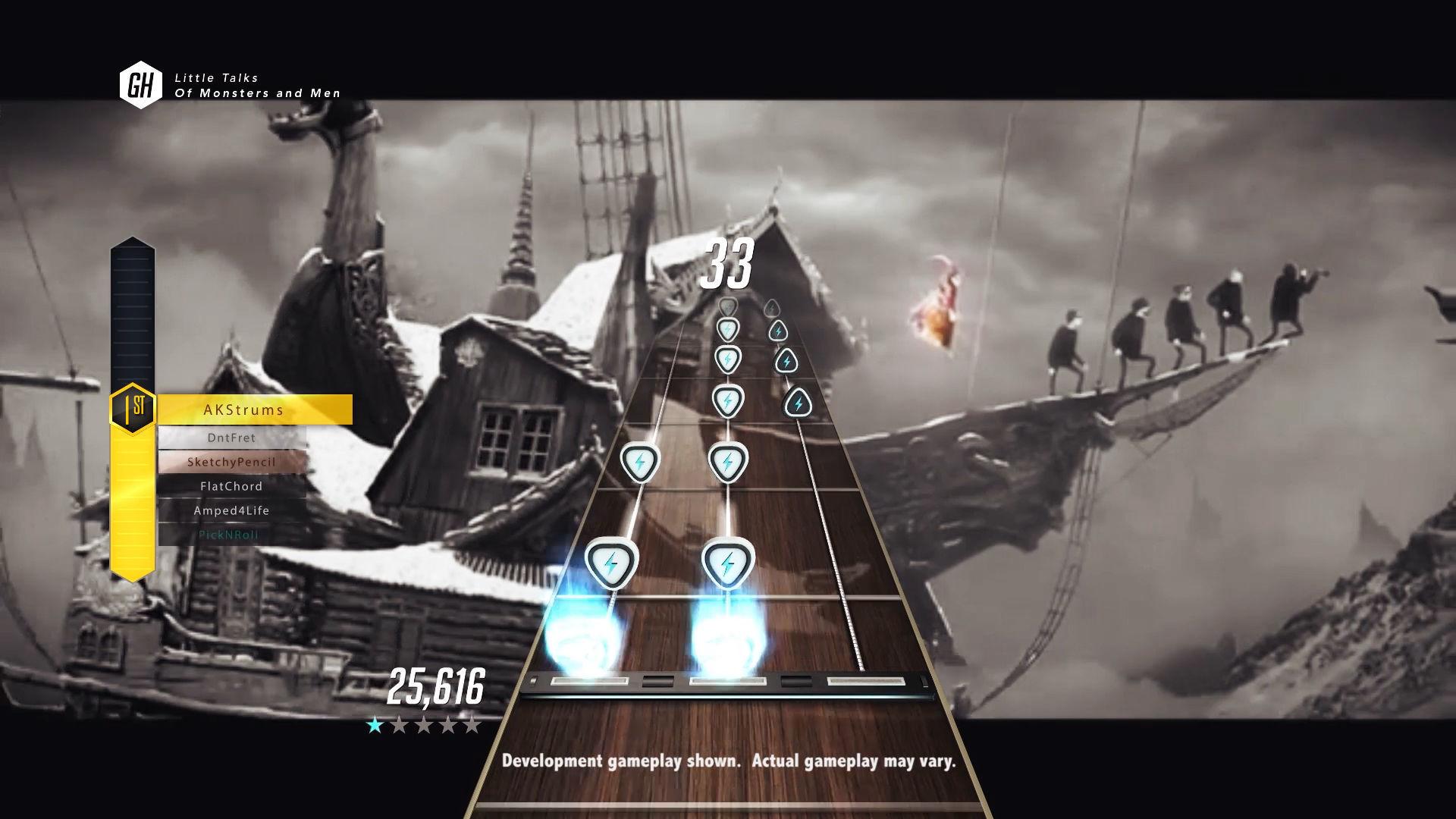 Nové Guitar Hero bude realističtější díky pohledu z první osoby 107966