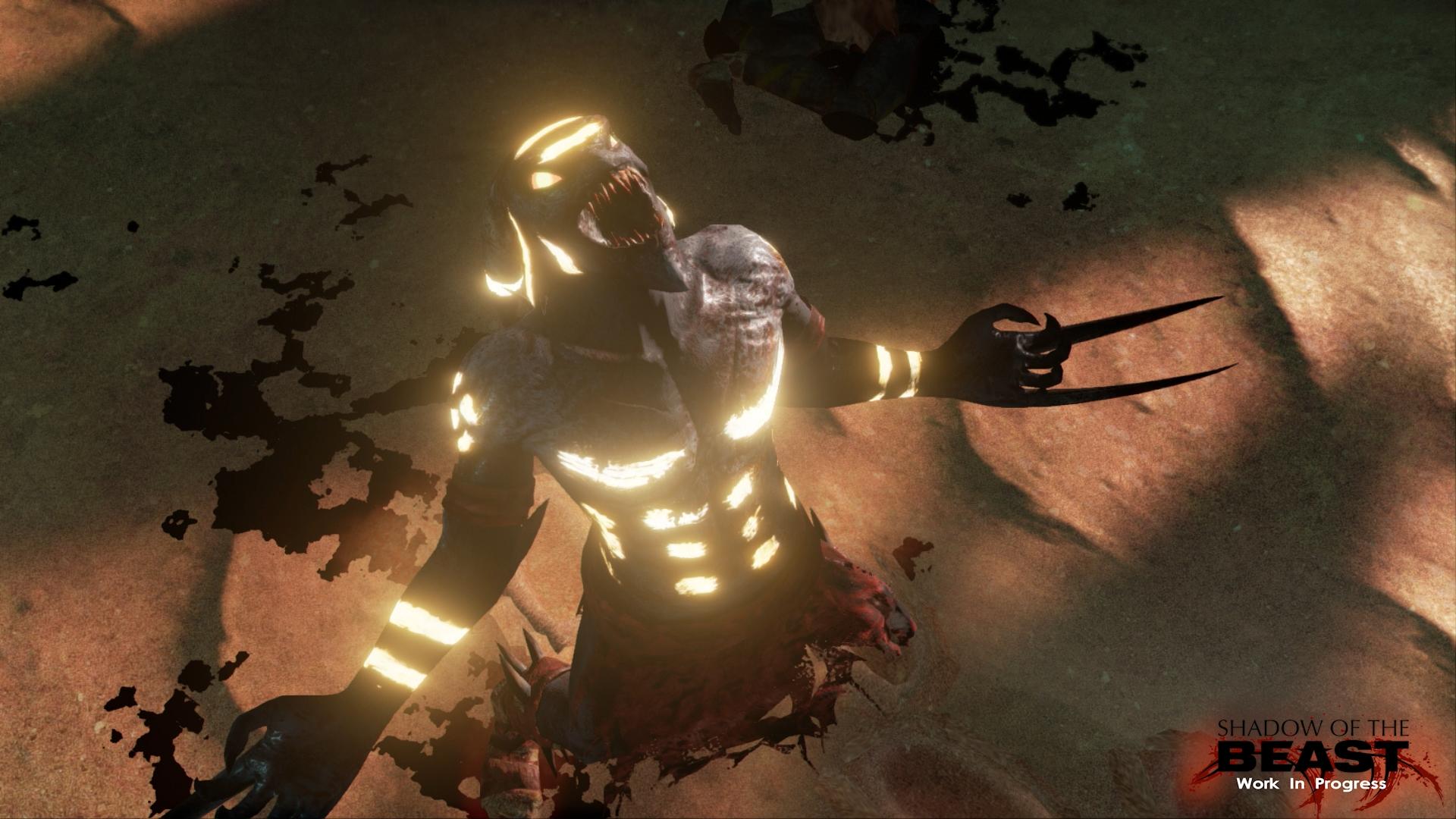 Restartu Shadow of the Beast se daří dobře. Koukněte na obrázky 108064