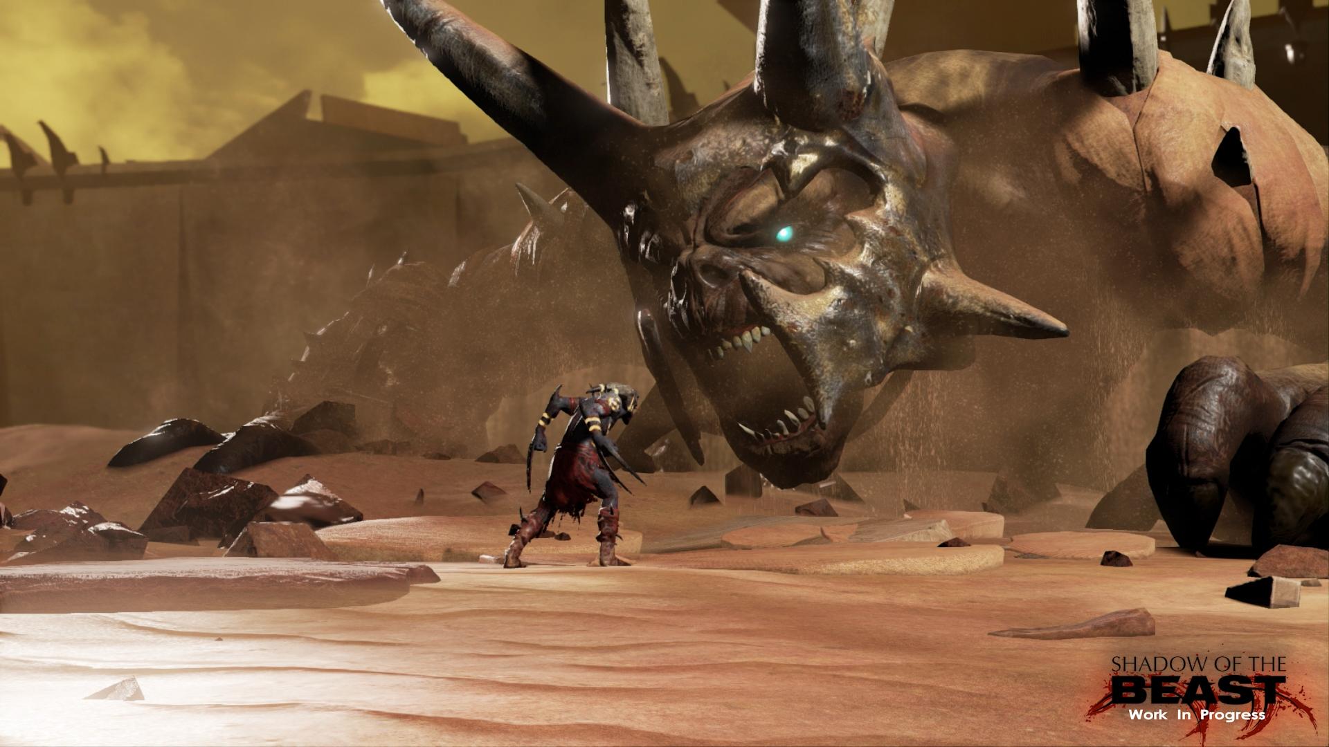 Restartu Shadow of the Beast se daří dobře. Koukněte na obrázky 108069