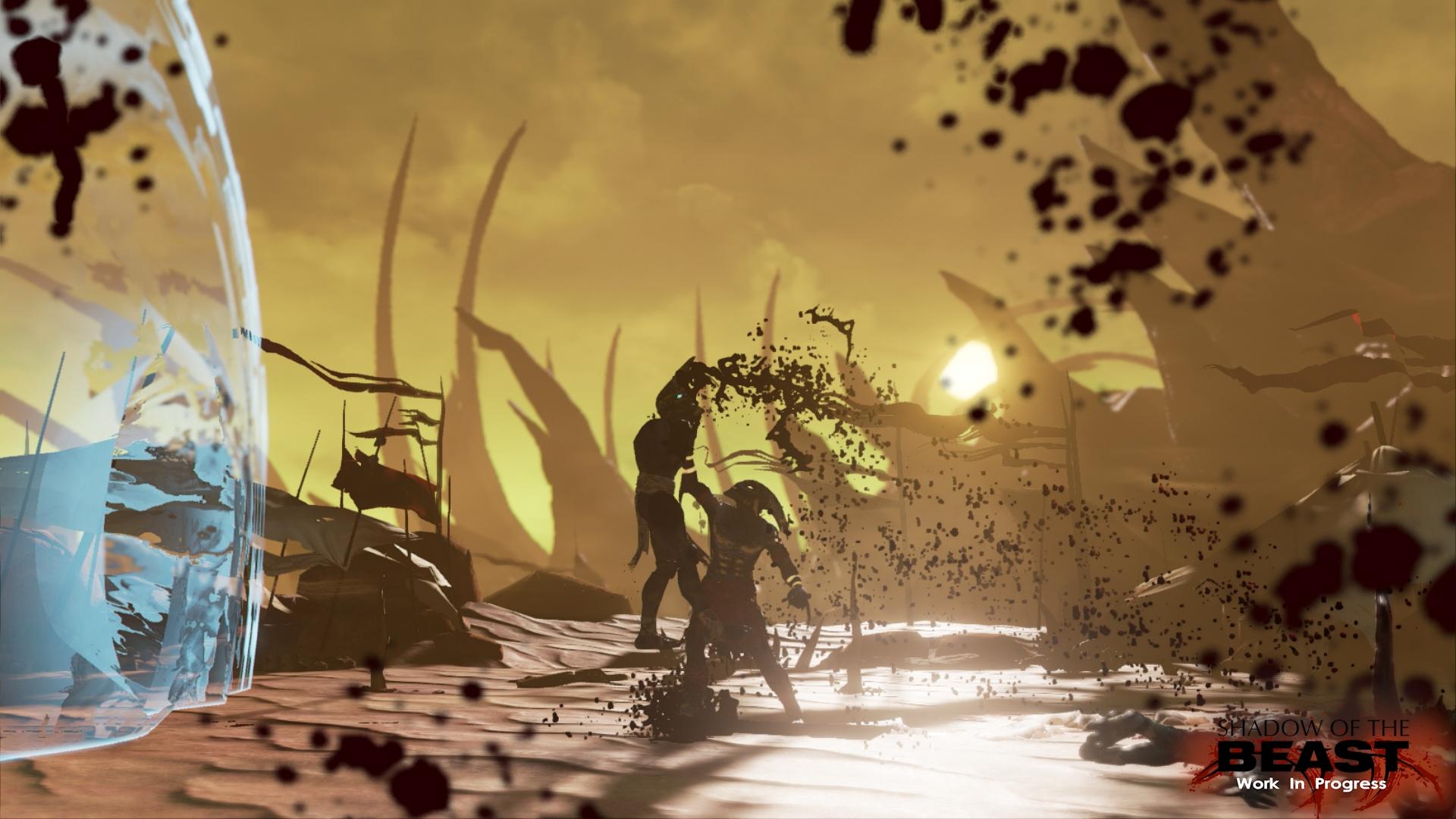 Restartu Shadow of the Beast se daří dobře. Koukněte na obrázky 108070