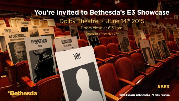 Bethesda láká na E3 obrázkem ze sálu s kartičkami známých postav 108074