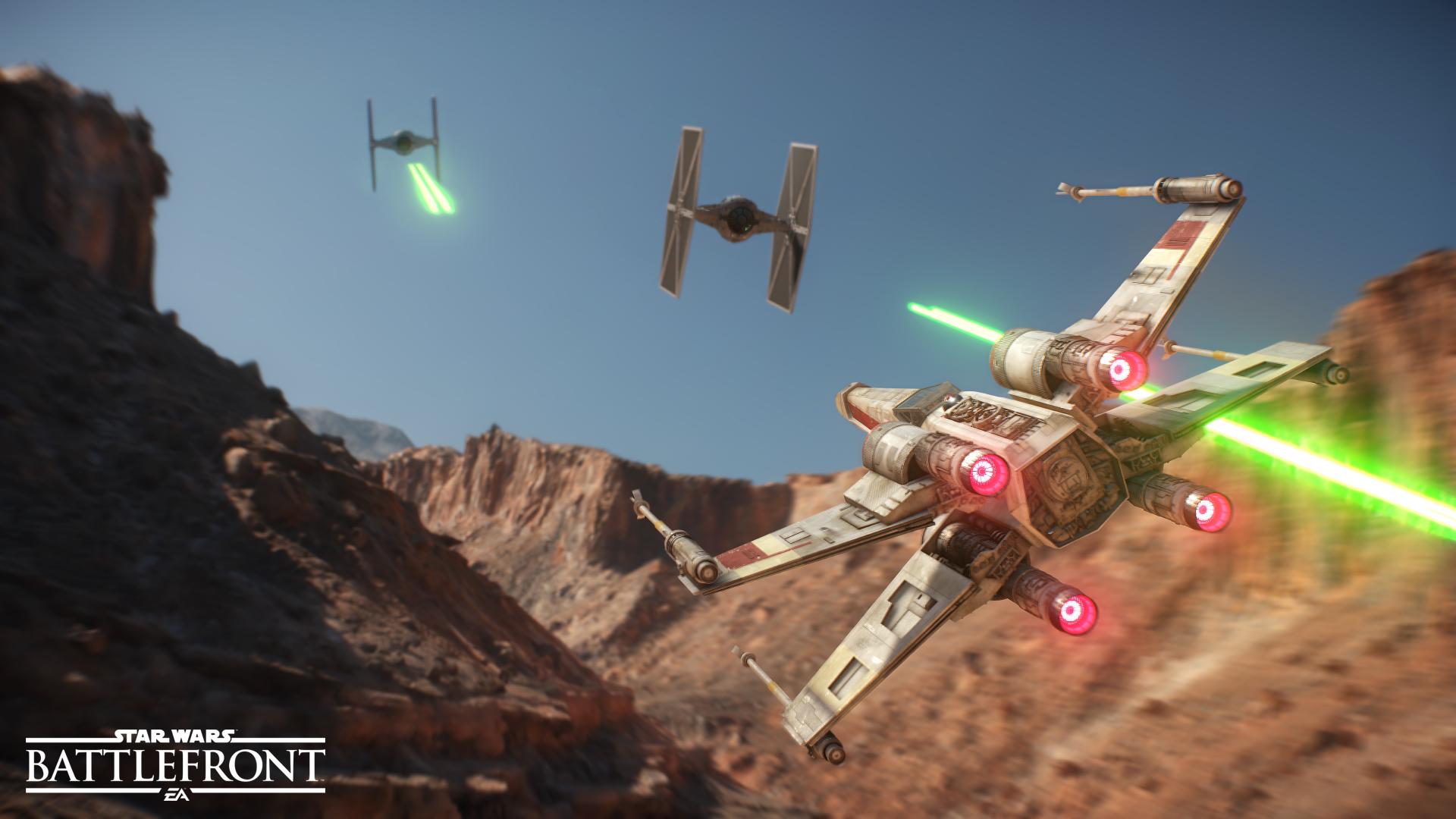 Star Wars: Battlefront v prvních detailech a v působivém traileru 108115