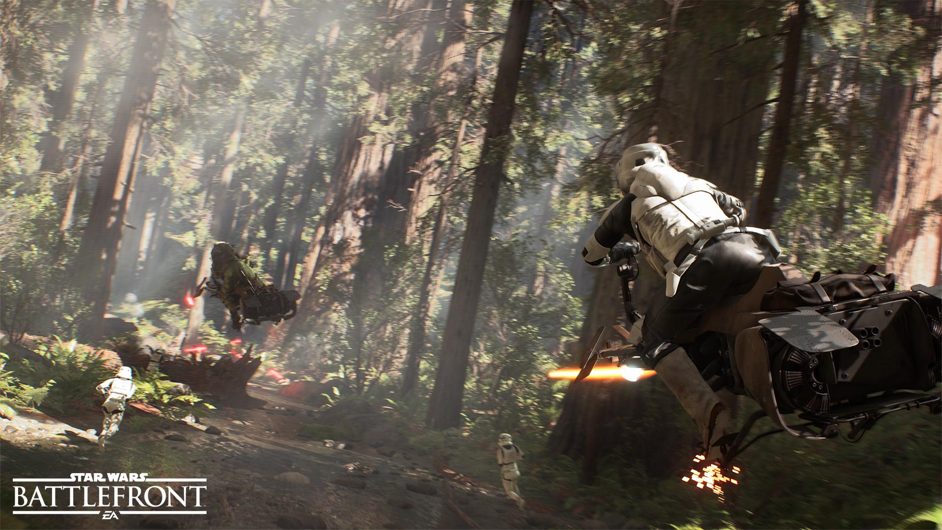 Star Wars: Battlefront v prvních detailech a v působivém traileru 108116