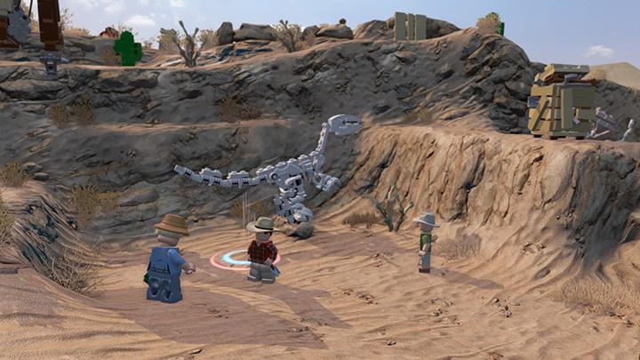 Nové screenshoty z LEGO Jurassic World 108210