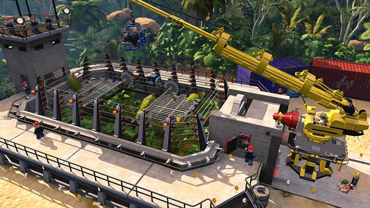 Nové screenshoty z LEGO Jurassic World 108211