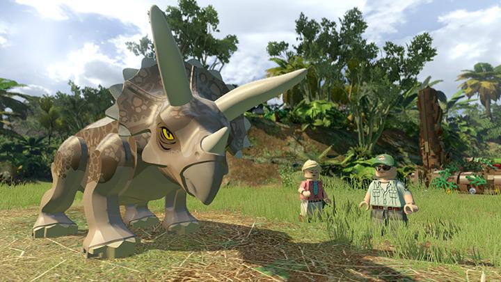 Nové screenshoty z LEGO Jurassic World 108212