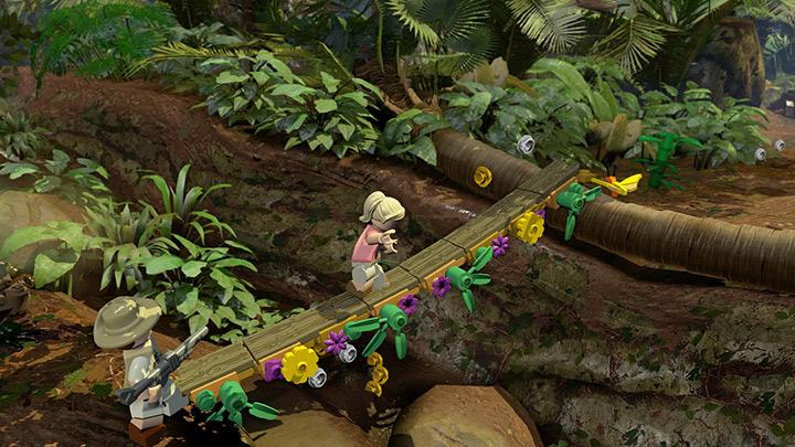 Nové screenshoty z LEGO Jurassic World 108214