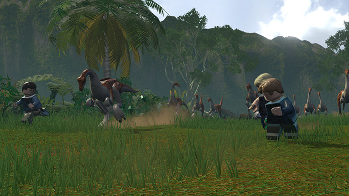 Nové screenshoty z LEGO Jurassic World 108215
