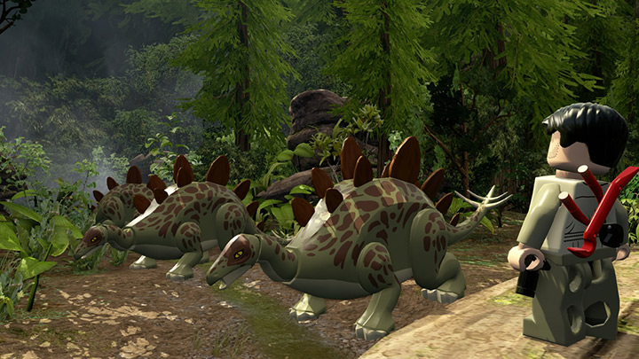 Nové screenshoty z LEGO Jurassic World 108217