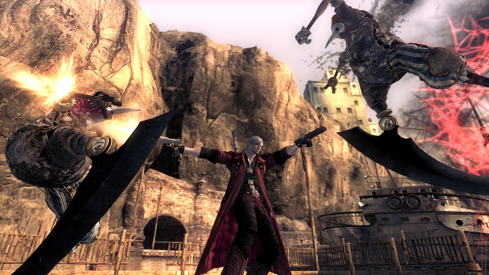 Přehlídka nových hratelných postav v Devil May Cry 4: Special Edition 108241